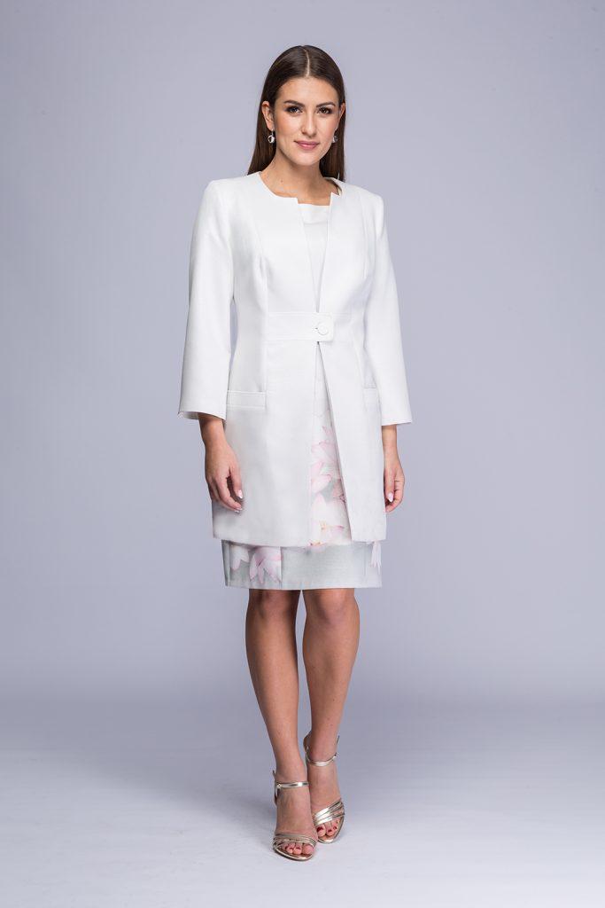 010 suknia Mirra lilie + płaszczyk Wala j