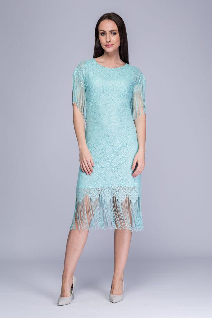 015 suknia Pola seledyn prz
