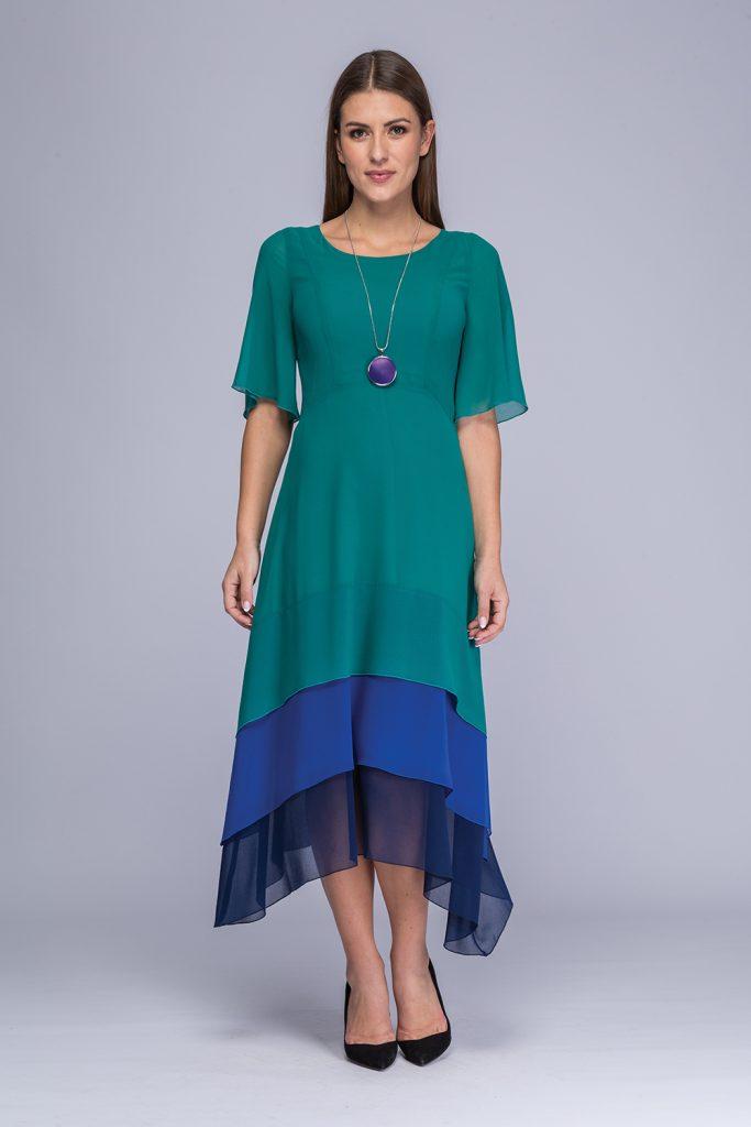 017 suknia Nansi morski
