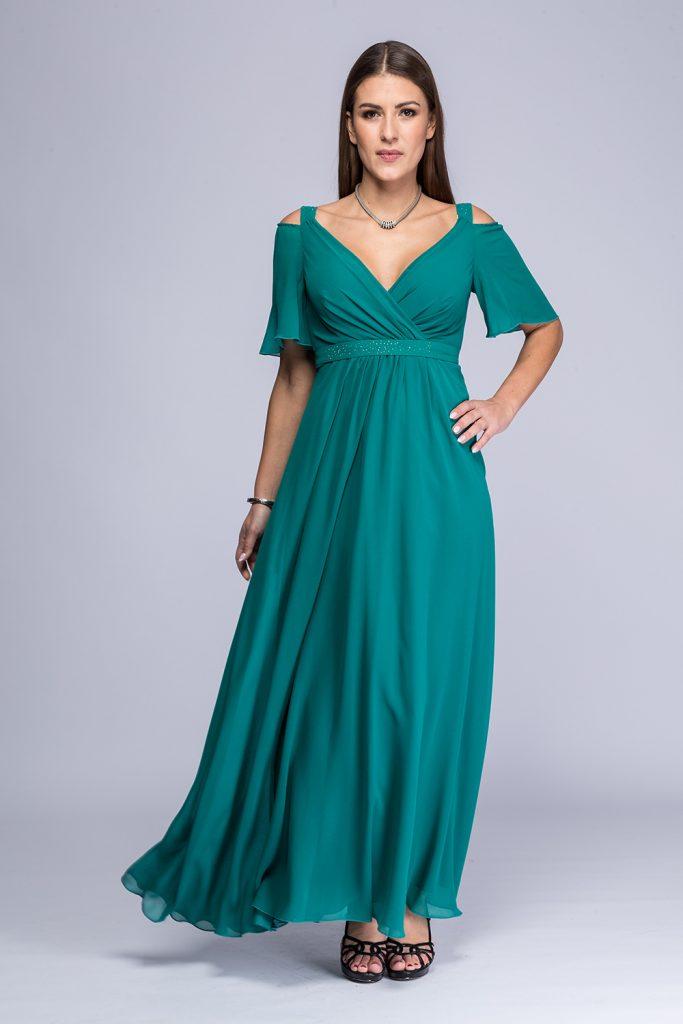 018 suknia Gella morska