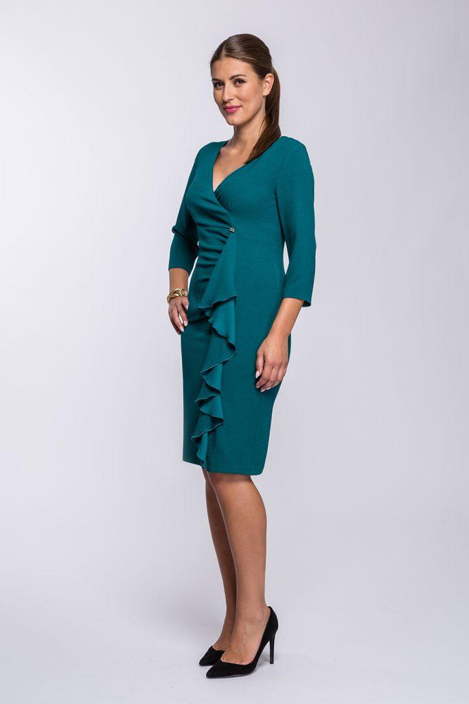 17 suknia Audrey morska