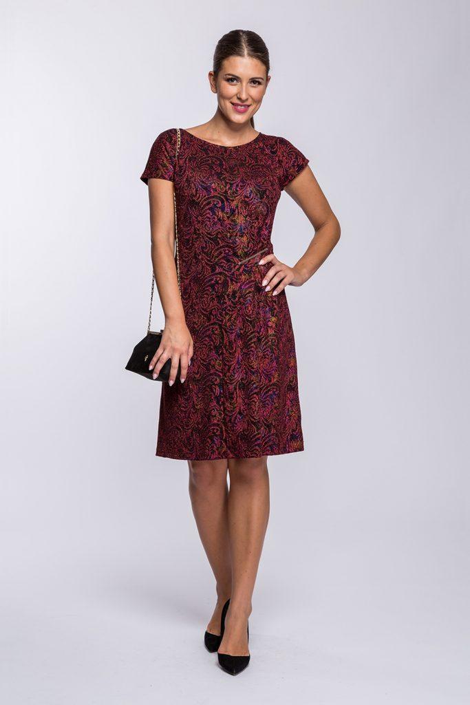 19 suknia Avril krótka czerw