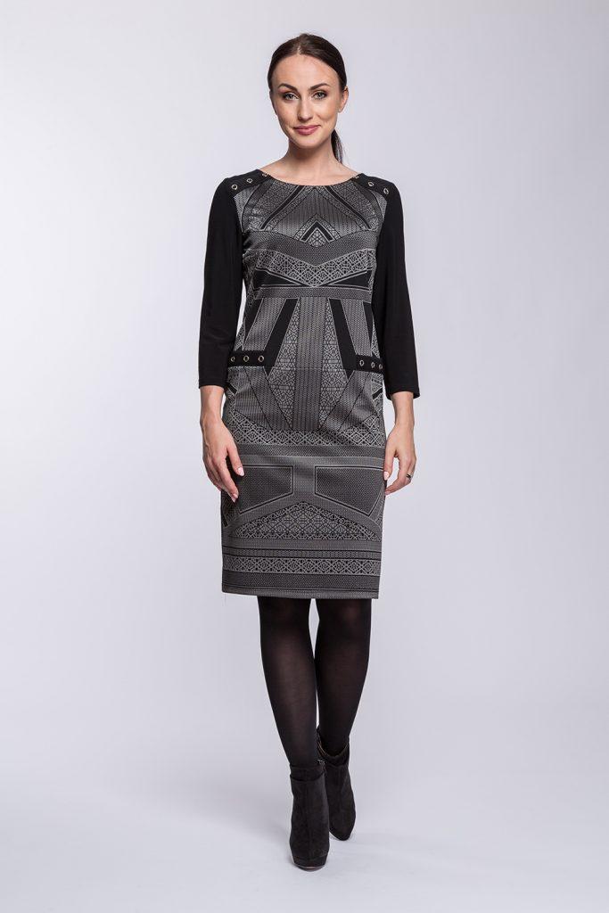 2 suknia Magda geometria prz s