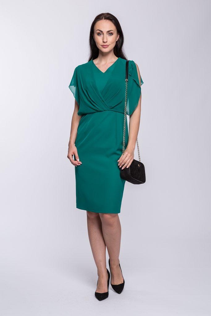 23 suknia Kamila zieleń