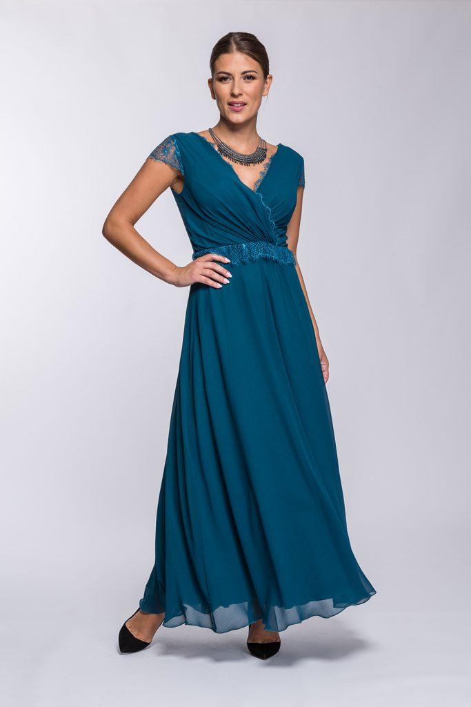 25 suknia Carolla morska prz