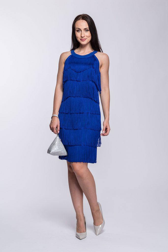 29 suknia z frędzlami chaber Vilma
