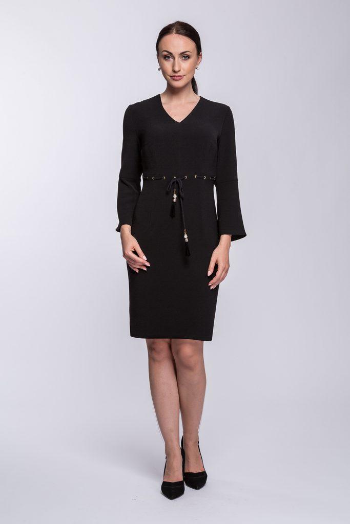 3 suknia czarna prz m